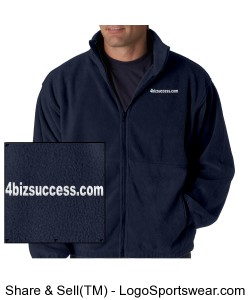 Iceberg Fleece Full-Zip Jacket Design Zoom