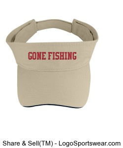Brushed Cotton Twill Sandwich Visor Design Zoom